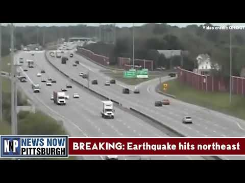 [KNNP-TV] RAW VIDEO: Earthquake hits Cleveland, OH and northeast USA
