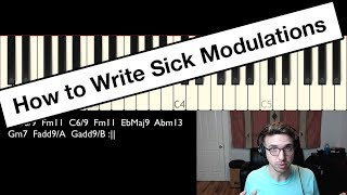 How to Write Neo Soul Chord Progressions with Sick Modulations - LOTD #15