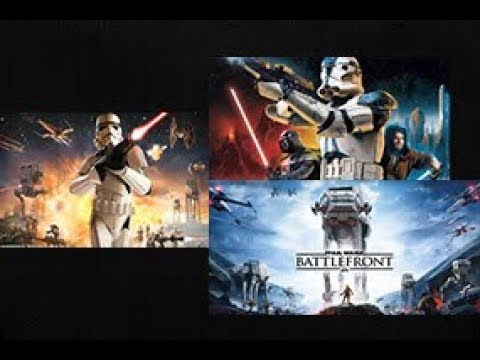 Star Wars Battlefront Marathon (All Battlefront Games)