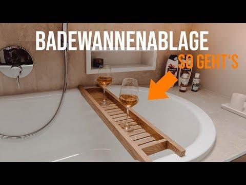 BADEWANNENABLAGE SELBER BAUEN | TIPPS & TRICKS | HAMMER TISCHKREISSÄGE K3 + HAMMER HOBEL A326