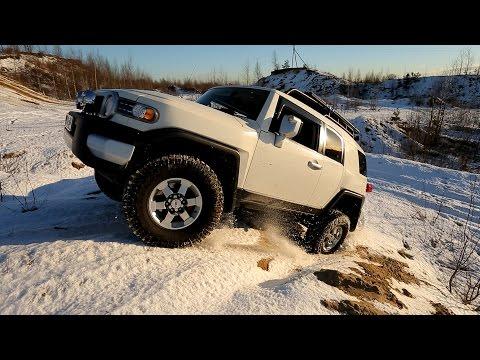 Toyota fj cruiser тест драйв видео