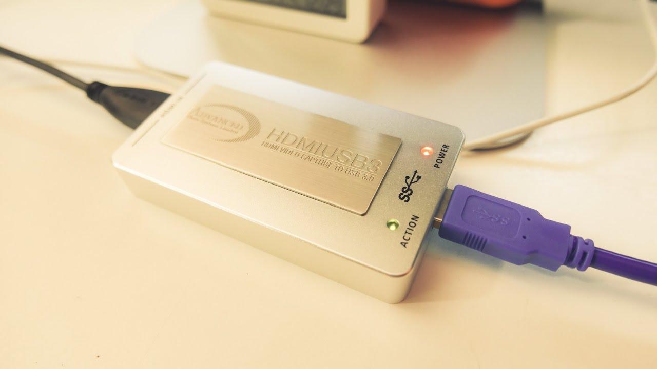 EP 117 : กล่องแปลงสัญญาน Advanced HDMI to USB 3 0 Adaptor