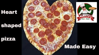 How To Make A Heart Shaped Pizza