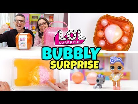 LOL SURPRISE BUBBLY SURPRISE ARANCIONE: Apertura di Coppia GBR