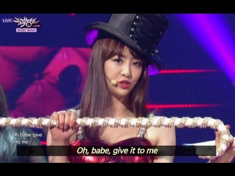 Music Bank with Eng Lyrics | 뮤직뱅크 (2013.07.13)