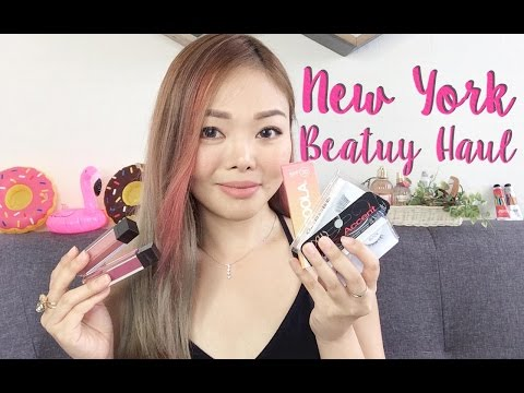 NYC Beauty Haul 2016