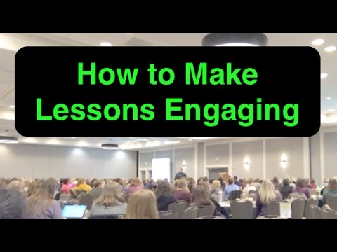 How to Make Lessons Engaging