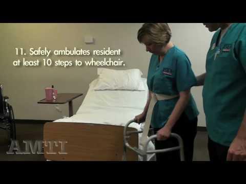 CNA Skills: Ambulation with Walker