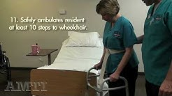 CNA Skills: Ambulation with Walker