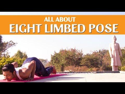 Eight Limbed Pose How to do 8 Limbed Pose (Ashtanga Namaskara) | Triyogam Series
