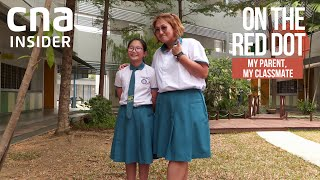 Parents head back to school with their children | On The Red Dot | My Parent, My Classmate Part 1/4