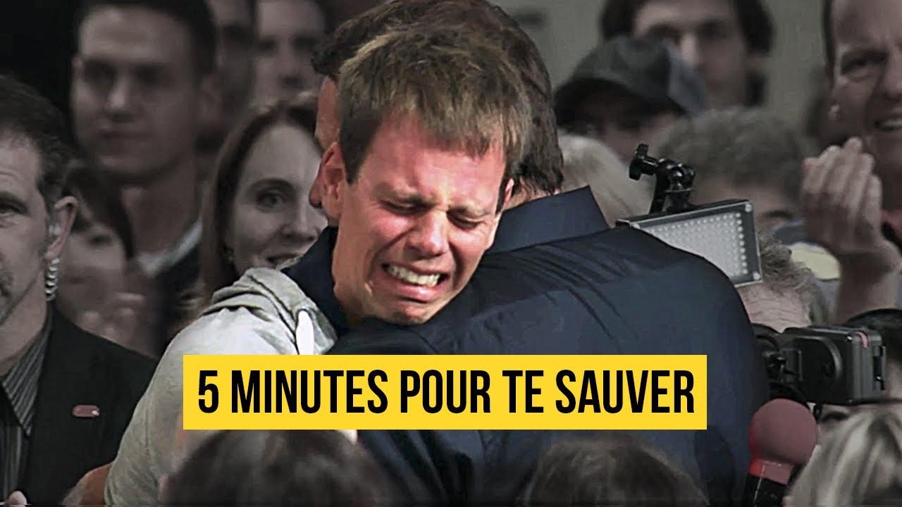 TONY ROBBINS SAUVE UN HOMME DÉPRESSIF DU SUICIDE EN 5 MINUTES
