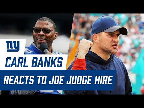 Carl Banks Reveals How Coach Joe Judge Will Make an Impact on the Giants | New York Giants