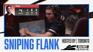 Simp's HUGE Sniping Flank Gets Him11 IN A ROW vs OpTic! — (Ties S&D Kill Streak Record)