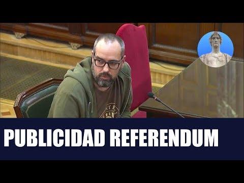 Juicio Proces - Publicidad Referendum - Enric Vidal - Enric Mari