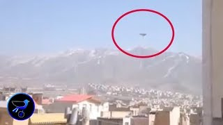 lncredible UFO sighted in the sky over Iran! Sept 5,2019