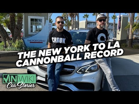 Record-breaking trio learns the Cannonball Run crown is heavier than it looks