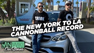 We broke the Cannonball Record