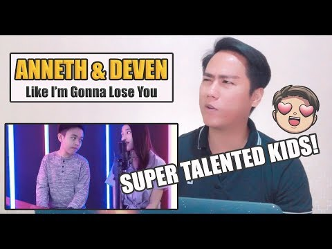 Anneth & Deven - Like I'm Gonna Lose You | SINGERS REACT