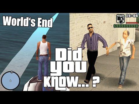 GTA San Andreas Secrets And Facts 30 Liberty City, Out Of Bounds, Hidden Interiors, Ocean Portal