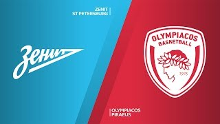 Zenit St Petersburg - Olympiacos Piraeus Highlights | Turkish Airlines EuroLeague, RS Round 21
