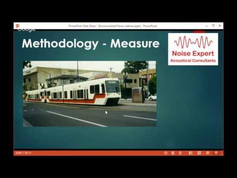 Environmental Noise Webinar - Noise Engineers