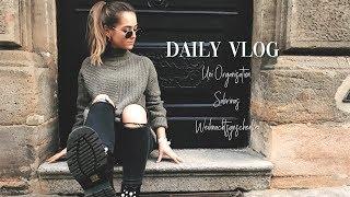 WAS ICH SABRINA ZU WEIHNACHTEN SCHENKE, UNI ORGANISATION ▹ Daily Vlog  ♡
