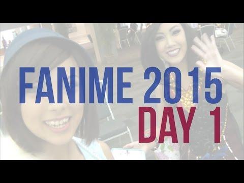 [CON VLOG] FANIME 2015 DAY 1
