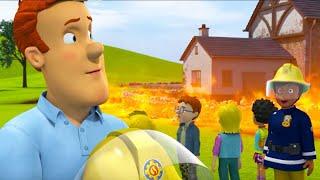 Пожарный Сэм на русском | Лисьи Бега -  лучший спасает 🚒Компиляция | Новые серии HD 🔥мультфильм
