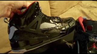 5d01e46403e4 air jordan spizike black varsity red-stealth - YouTube