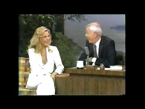 Michelle Pfeiffer on The Tonight  with Johnny Carson 1980
