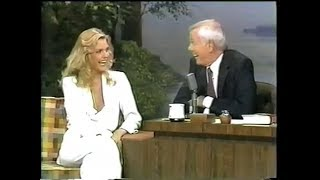 Michelle Pfeiffer on The Tonight Show with Johnny Carson (1980)