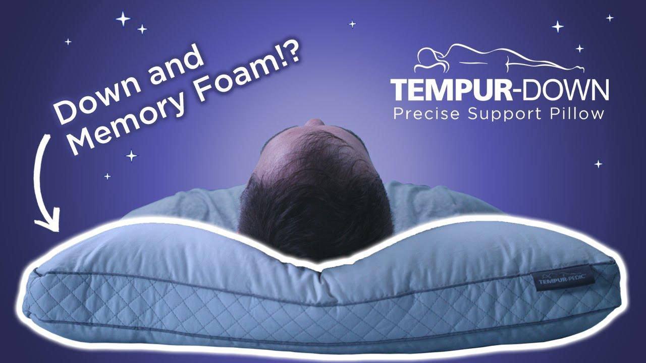 tempur down precise support pillow review the best tempurpedic pillow