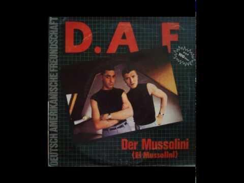 D.A.F - A. DER MUSSOLINI