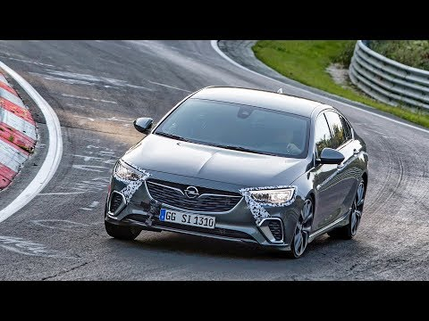 2018 Opel Insignia GSi at the Nurburgring