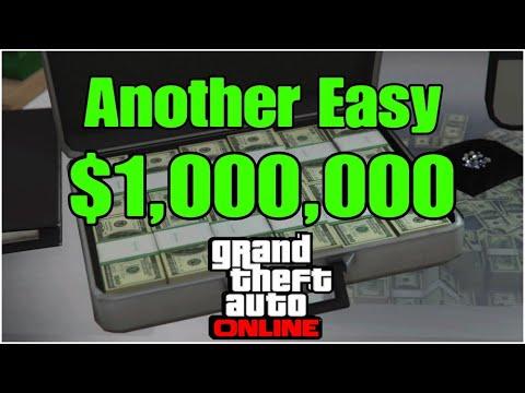 Get An Easy Free Million Dollars In GTA Online
