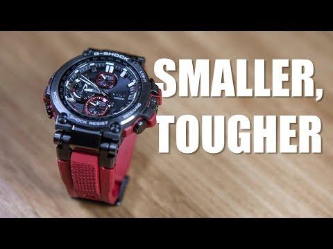SMALLER BUT TOUGHER   G-SHOCK MTG-B1000B-1A4  - UNBOXING & SPEC