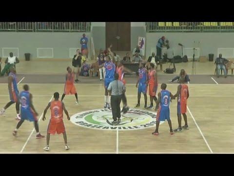 République du congo, Match de Gala de basketball avec la star de NBA Serge Ibaka