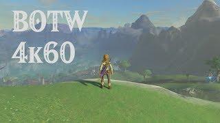 CEMU Emulator - Zelda Breath of the Wild native 4k60fps!