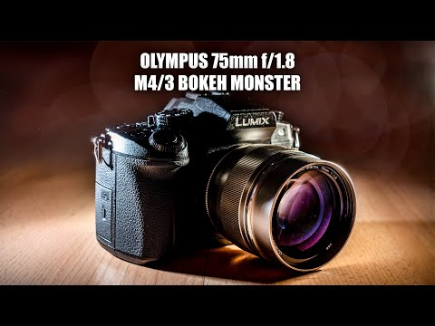 The BEST Bokeh and Portrait Lens - Olympus 75mm f/1.8 - Review, Sample Pics, Thoughts