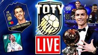 FIFA 18 MOBILE: TOTY Live 😱🔥 TEAM OF THE YEAR SPIELER GEZOGEN!