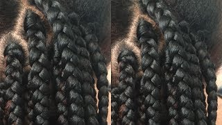 Gripping The Roots Detailed Tutorial For Box BraidsStep By Step Guide
