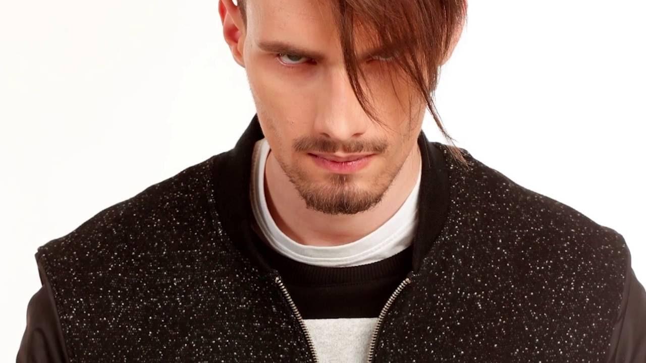 Причёски с длинной чёлкой мужские фото