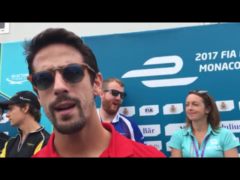 Lucas di Grassi Monaco Pre-race Interview
