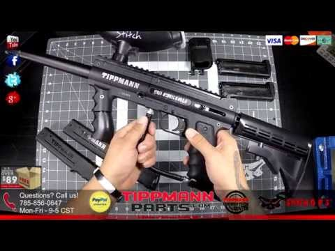 Tippmann 98 Custom MagFed Options And Other Upgrades