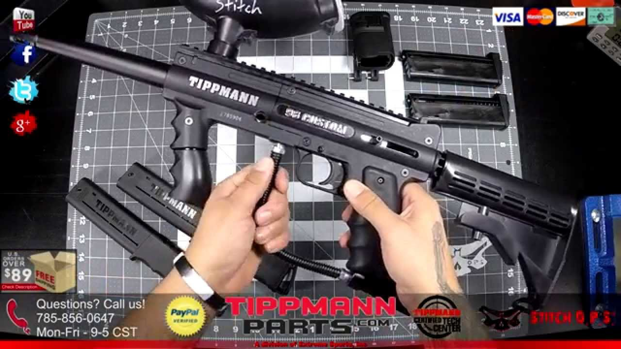Tippmann Parts Paintball Gear Upgrades And Mods