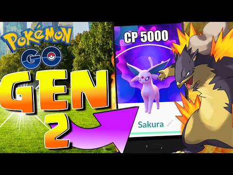 CATCHING ALL GEN 2 POKÉMON | Pokémon Go | New Update LIVE