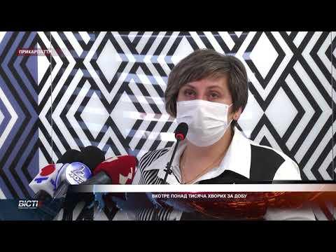 Івано-Франківське обласне телебачення «Галичина»: Вкотре понад тисяча хворих за добу