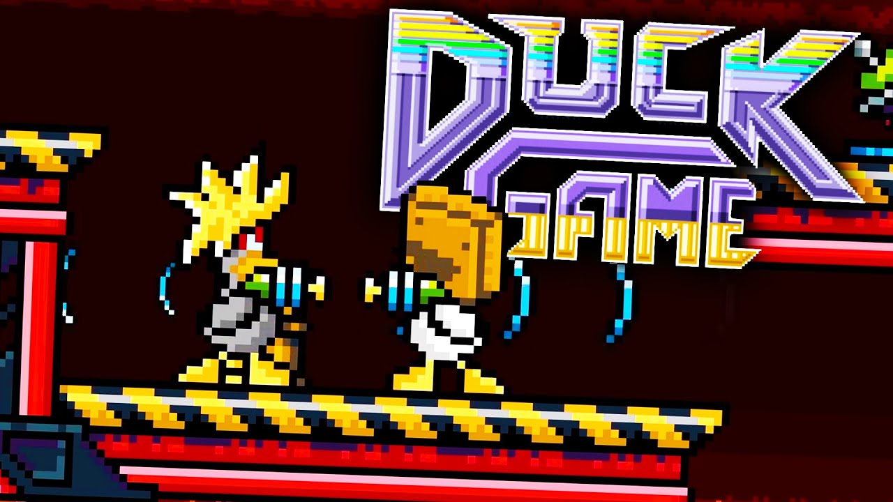 MIND DUEL | Duck Game: Funny Moments (Gameplay Montage)