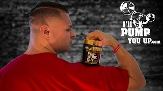 Optimum Nutrition Gold Standard PRE-WORKOUT Review with Taste Test